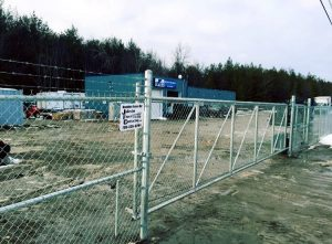 jfc sliding coomercial gate 1 300x221 - COMMERCIAL FENCE COMPANY OFFERING CHAIN LINK FENCES, ORNAMENTAL FENCES & MORE